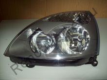 Фара передняя левая Clio II, Symbol (серая) K-551-1138-1 аналог 7701057656