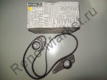 Комплект ГРМ (ремень+ролики) (двигатель 2.0 8V) Renault оригинал 7701469776