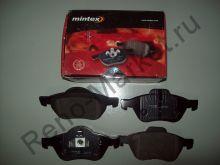 Тормозные колодки передние (MeganeII) Mintex MDB2883  аналог 7701209100, 7701209670, 7711130086