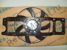 Вентилятор охлаждения в сборе (Logan) на авто без кондиционера Finord FN-9262 аналог 6001550770,6001546843