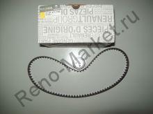 Комплект ГРМ (ремень+ролик) Renault оригинал 7701472726