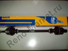 Привод колеса в сборе правый без ABS (Symbol) Metelli 17-0396 аналог 7701352775, 7701352777